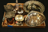 Box of Assorted Silverplate