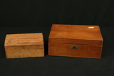 2 Wooden Boxes