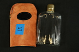 Glass Flask with Case