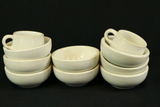 Carr China 8 Bowls & 2 Cups
