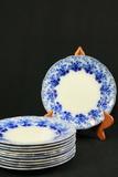 11 Ridgeway Semi-Porcelain Plates
