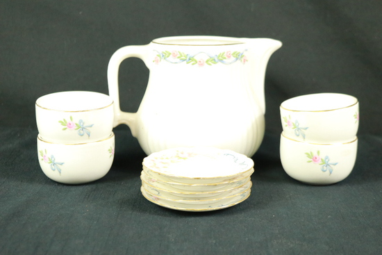 Partial Set Of Hall's Kitchenware