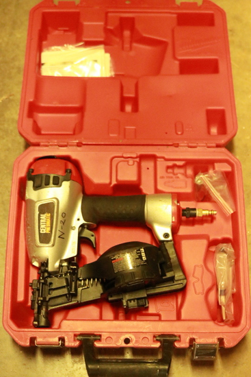 Central Pneumatic Roofing Nailer
