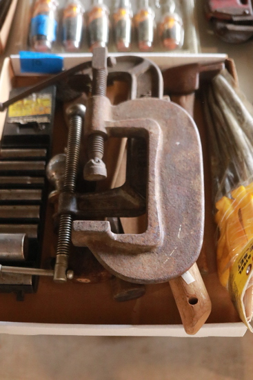 Clamps, Hammers, Sockets