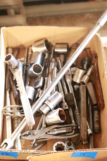Box Of Misc. Sockets & Ratchets