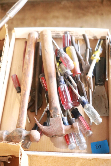 Assorted Hammers & Screwdrivers