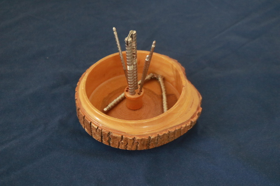 Nut Cracking Bowl With Nut Crackers