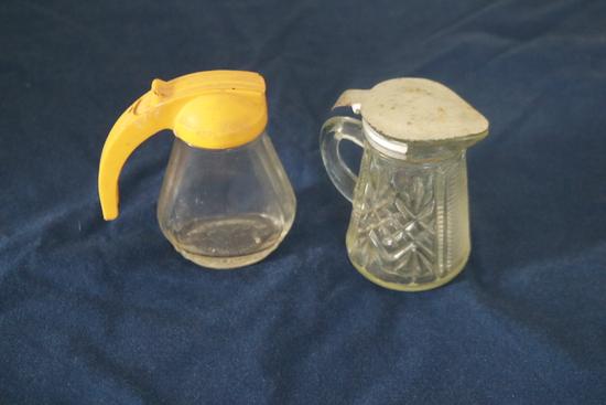 2 Syrup Bottles