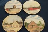 12 Franciscan Porcelain Historic Providence Plates