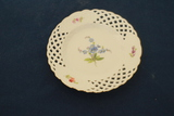 Meissen Reticulated Plate