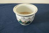 Asian Style Flower Pot