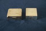 2 English Trinket Boxes