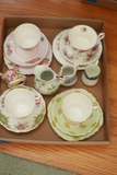 Assorted Cups/Saucers & Creamers