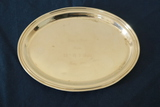 Sterling Silver Monogrammed Tray
