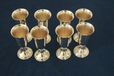 8 Sterling Silver Cups