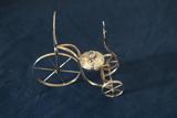 Sterling Silver Bicycle Oil Burner