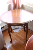 Cherry Oval Top Table