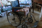 Wheelchair & Owl Sewing Box