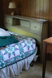 3 Piece Vintage Bedroom Set & Owl Lamp