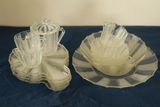 Assorted Pieces Of Depression Glass