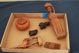 Assorted Wooden Figurines