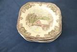 6 Johnson Brothers Plates