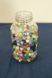 Jar Of Assorted Marbles