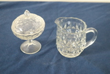 Pitcher & Covered Dish