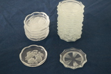 Assorted Small Glass Plates