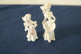2 Signed Ceramic Figurines