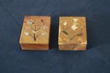 2 Stone Trinket Boxes