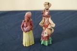 2 Clay Figurines