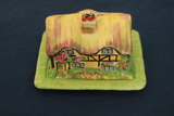 Olde England Pottery Butter Dish