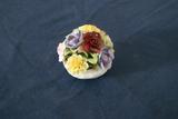 Aynsley Hand Painted Porcelain Flower Arrangement