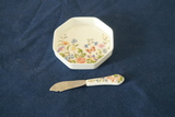 Aynsley Tray With Knife