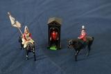 4 British Figurines