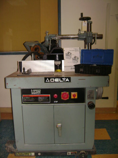 Delta 5 speed shaper – Model 43-791 – 3 phase  220/440 paid $8000 without t