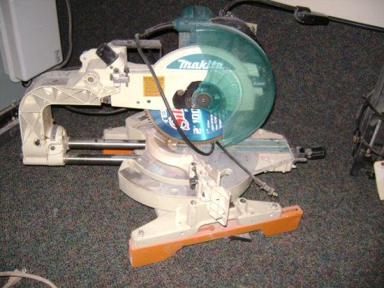 Makita compound slide miter saw