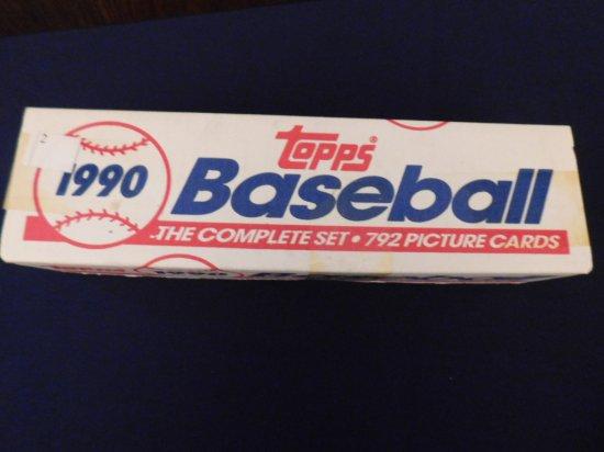 1990 TOPPS BASEBALL FACTORY SET- FRANK THOMAS RC