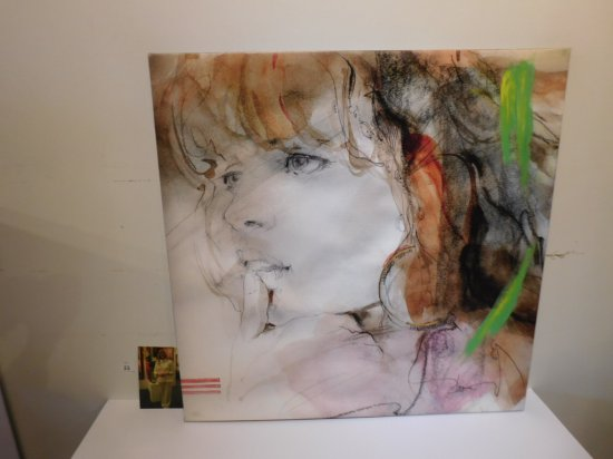 "ANNA RAZUMOVSKAYA ""SENSE OF A WOMAN 2"" LIMITED EDITION GICLEE ON CANVAS ENH"