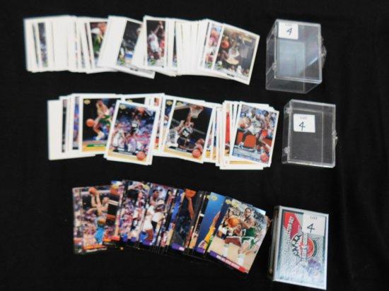 (3) BASKETBALL CARD SETS: 1992-93 MCDONALDS UPPER DECK 50 CARD SET W/ SHAQ