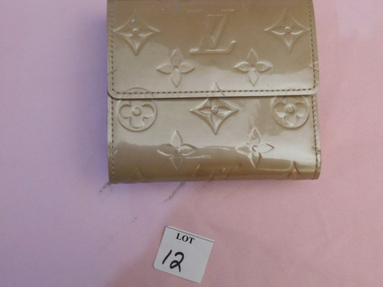 LOUIS VUITTON WALLET, (NEW), BEIGE