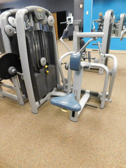 TECHNO GYM COMMERCIAL LOW ROW MACHINE WITH 280 LBS WEIGHTS