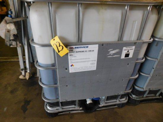 330 GALLON MAX TANK WITH 220 GALLON OIL SERVICE FLEET SUPREME EC 15 W-40