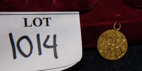 COIN GOLD ENGRAVED LOVE TOKEN $1.00