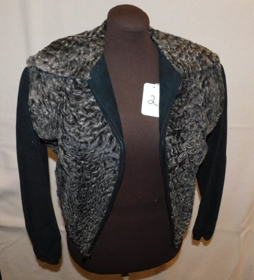 JACKET:   FUR,  GALLERIES FUR/JOSEPH HORNES, WITH AN INNER LINING THAT  UNB