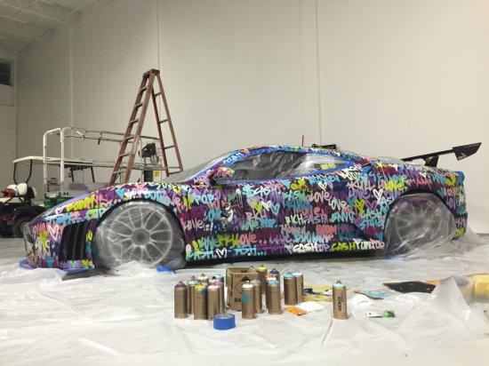 "Ben Levy ""ART CAR"" 2008 Ferrari F430 Challenge Car"