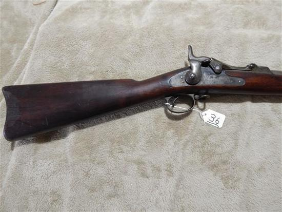 US SPRINGFIELD 1884, 45-70 CAL, TRAP DOOR, SN-56010
