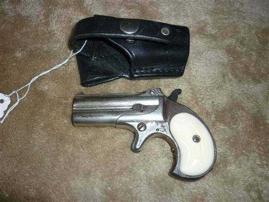 REMINGTON DERRINGER, 41 CAL, OVER/UNDER