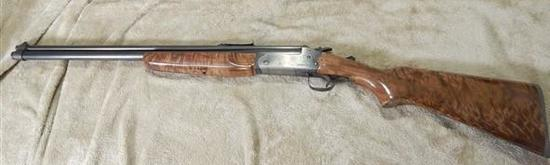 SAVAGE MODEL 24, 22/20 GA, OVER AND UNDER WITH WATTS WALNUT WOOD
